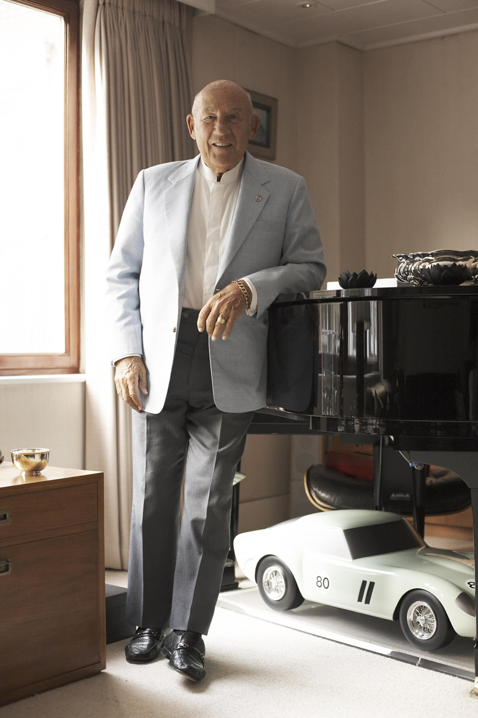 Sir Stirling Moss : Motor Racing Driver